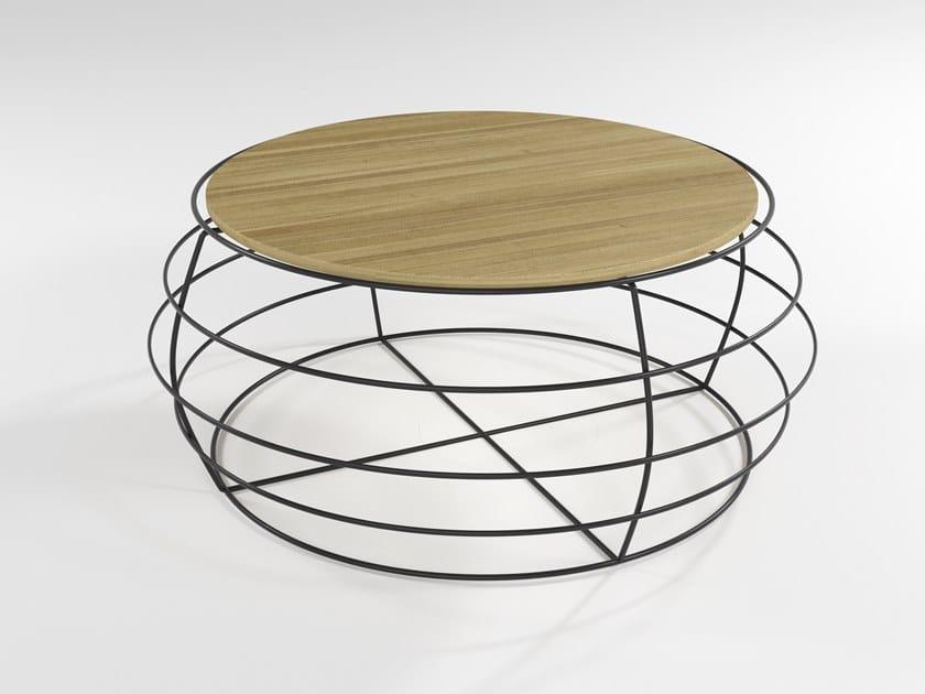 Wood veneer coffee table YO-YO | Coffee table by Barel
