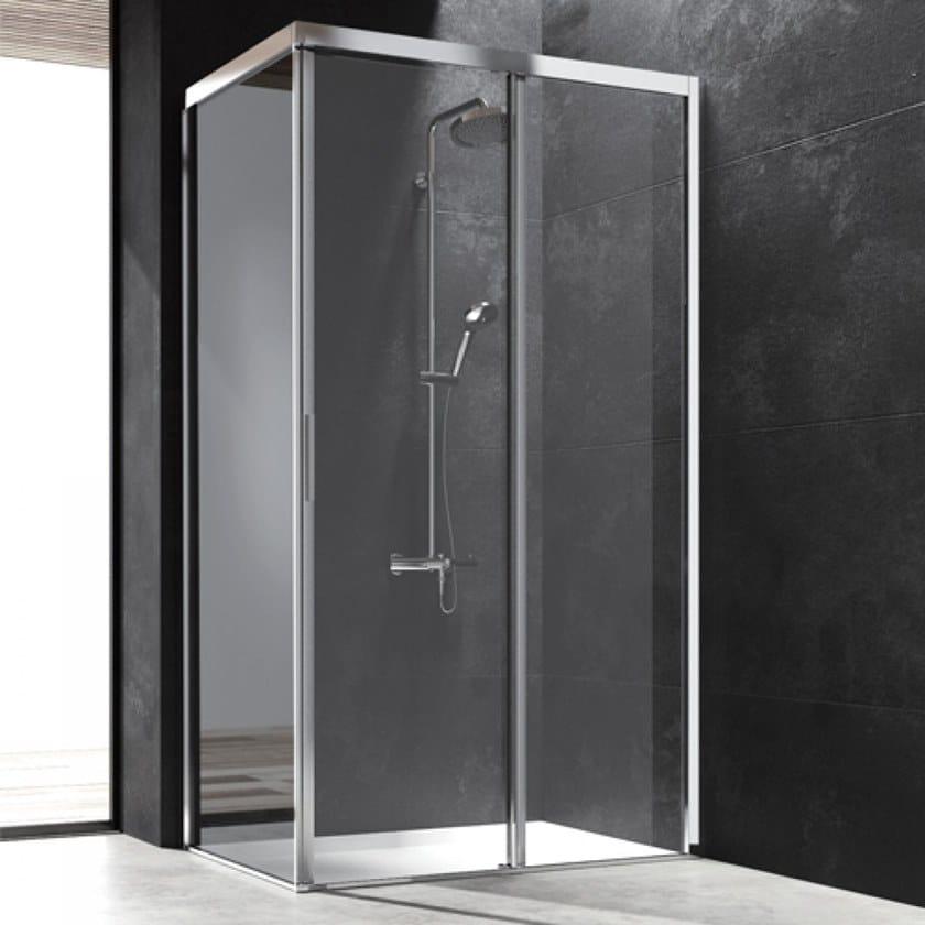 YOKO | Corner shower cabin By Blu Bleu