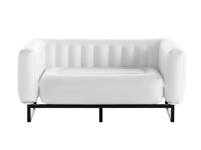 Inflatable PVC sofa YOMI | PVC sofa by Mojow