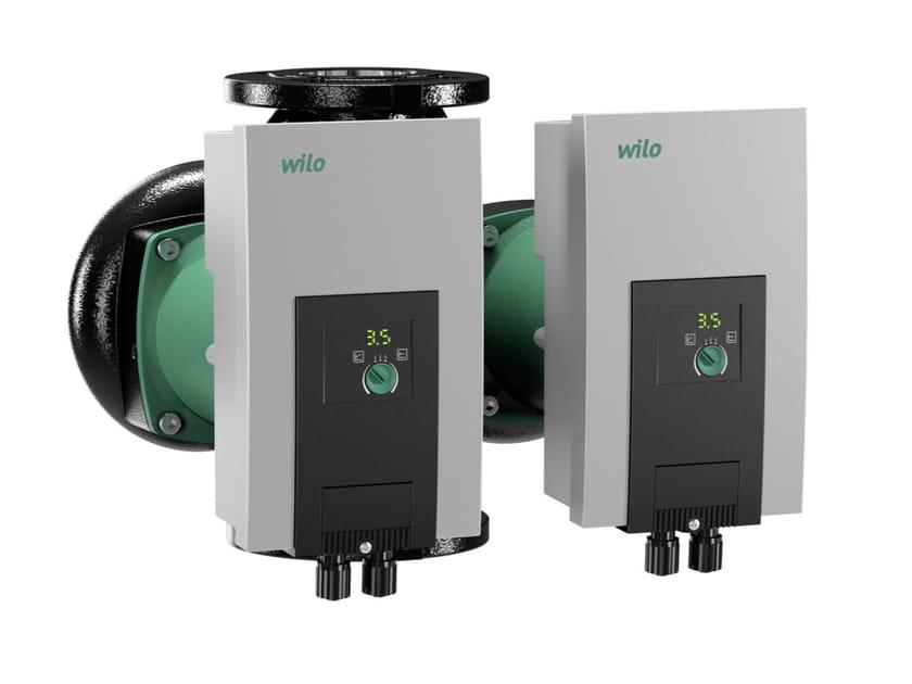 Pompa di ricircolo con rotore bagnato YONOS MAXO D by WILO Italia