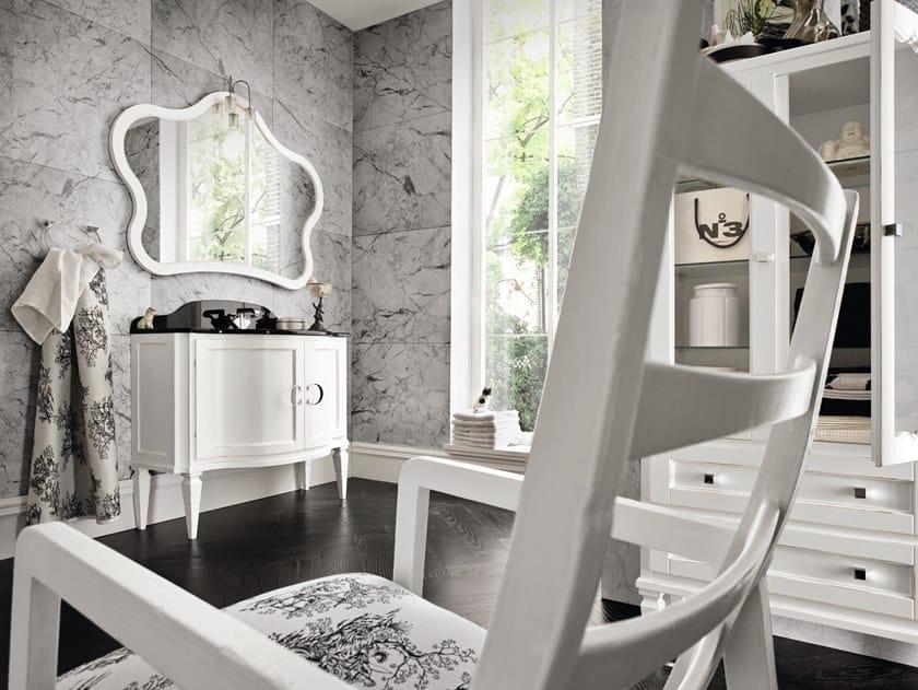 Mobile lavabo in legno con ante YORK 92 | Mobile lavabo - Cerasa