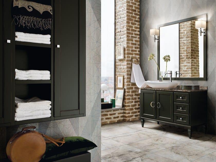 Mobile lavabo in legno york 81 cerasa