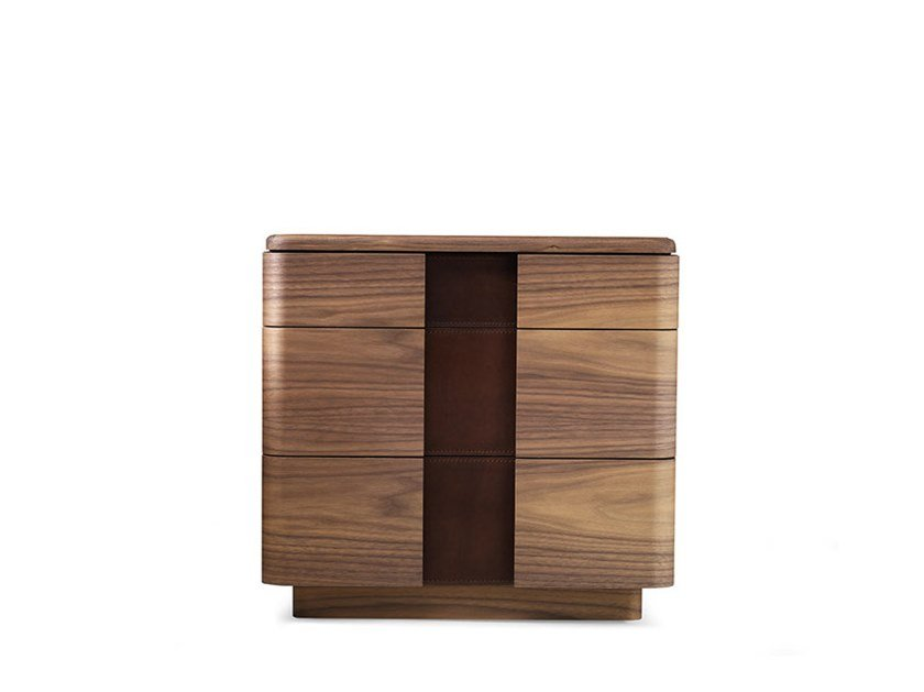 Bedside table with drawers YORK - 710401 | Bedside table by Grilli