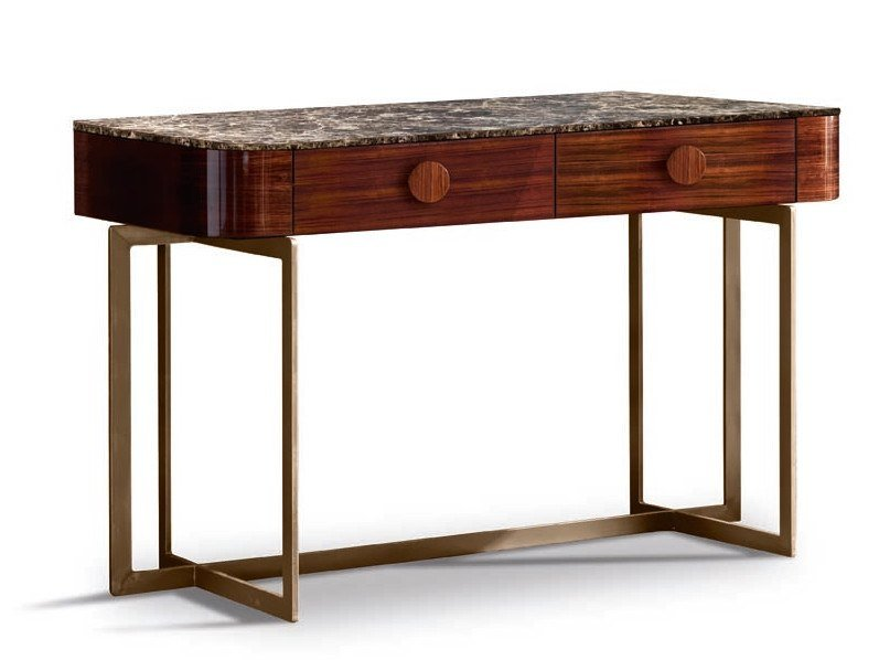Rectangular console table with drawers YORK - 750401   Console table by Grilli