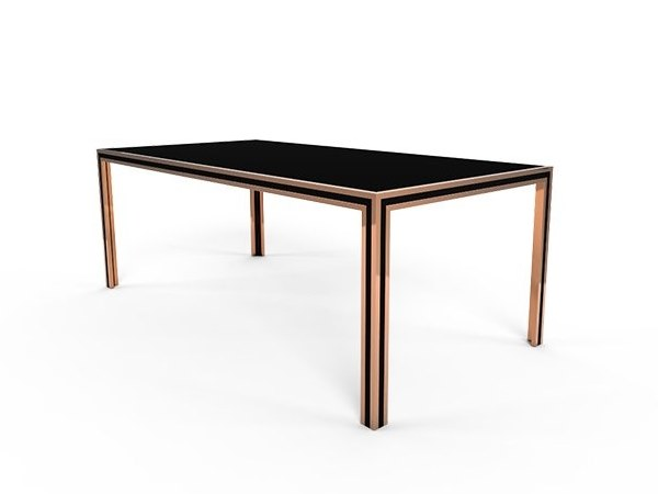 Rectangular dining table YORK | Dining table by Duquesa & Malvada