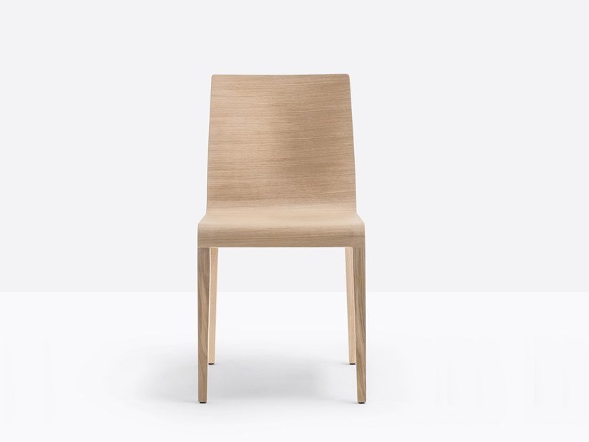 Solid wood chair YOUNG 420 by Pedrali
