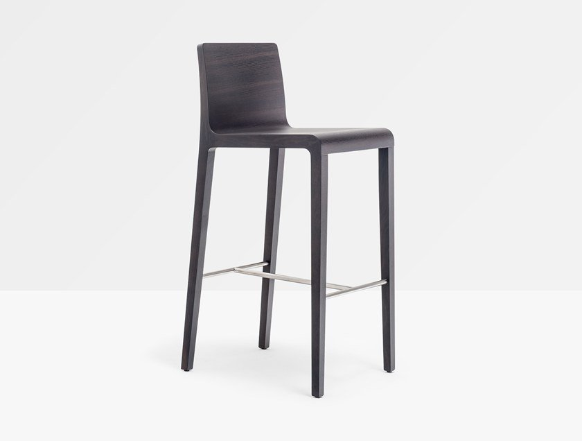Multi-layer wood stool YOUNG 426 by Pedrali