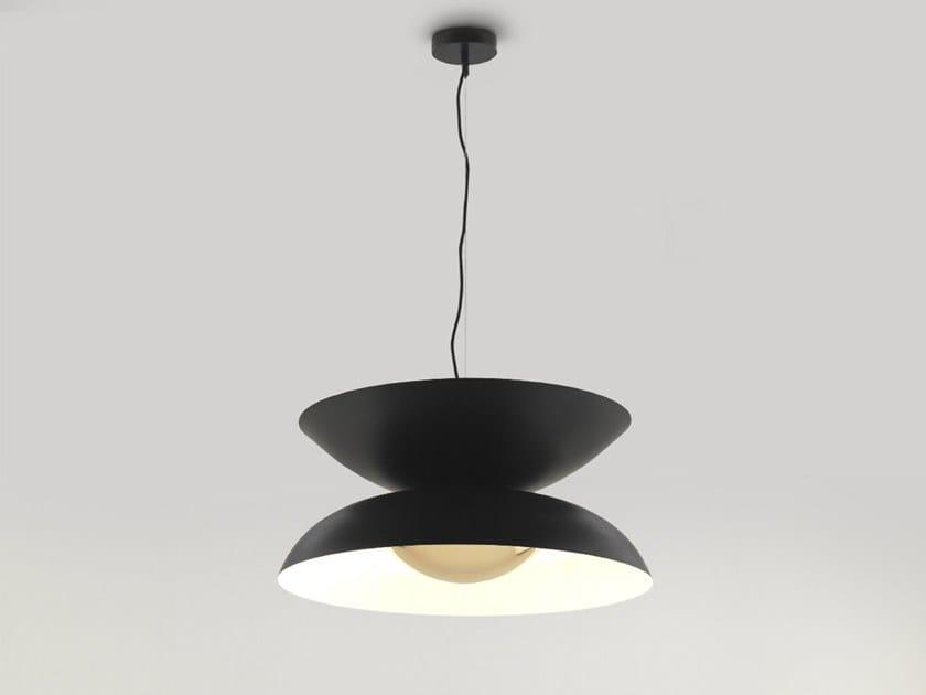 Lampada a sospensione in metallo YOYO by Aromas del Campo