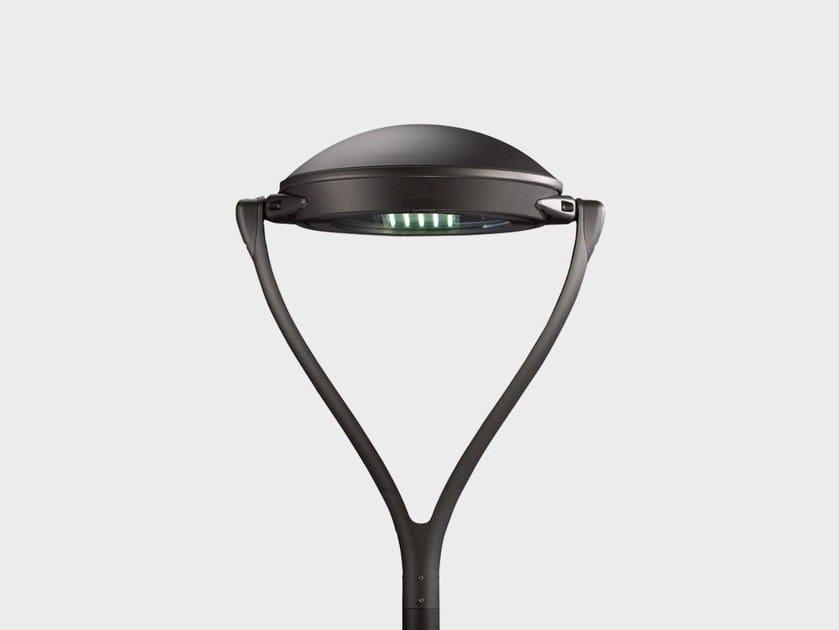 LED aluminium garden lamp post YPSILON POST TOP by Cariboni group