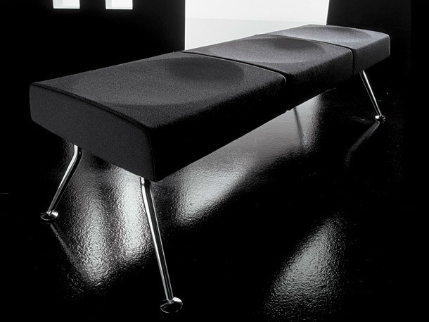 Fabric bench YPSILON | Bench by Diemme