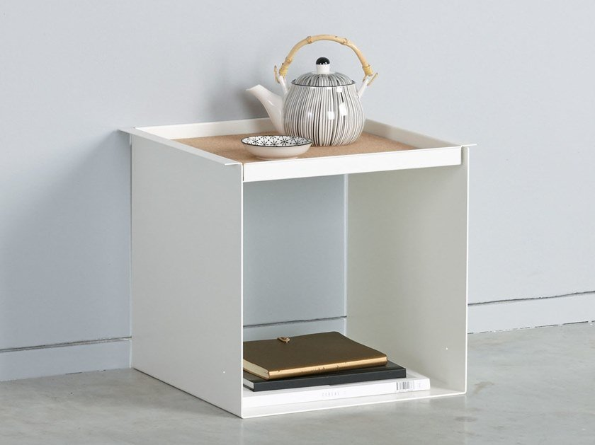 Side table with tray YU TRAY TABLE by KONSTANTIN SLAWINSKI