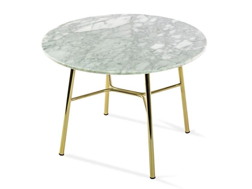 Tavolino rotondo in marmo YUKI   Tavolino rotondo by TrabA'