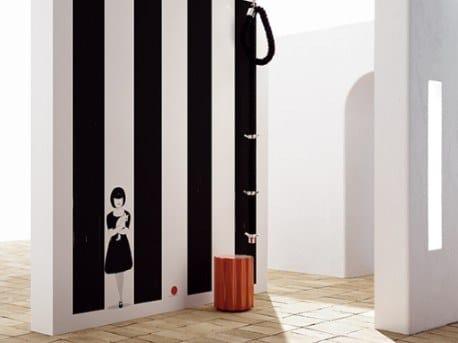 Ecological fire retardant wallpaper YUKO by Wall&decò