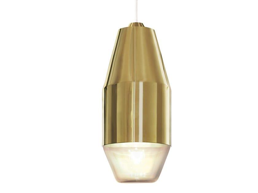Metal pendant lamp YUMA by KUNDALINI