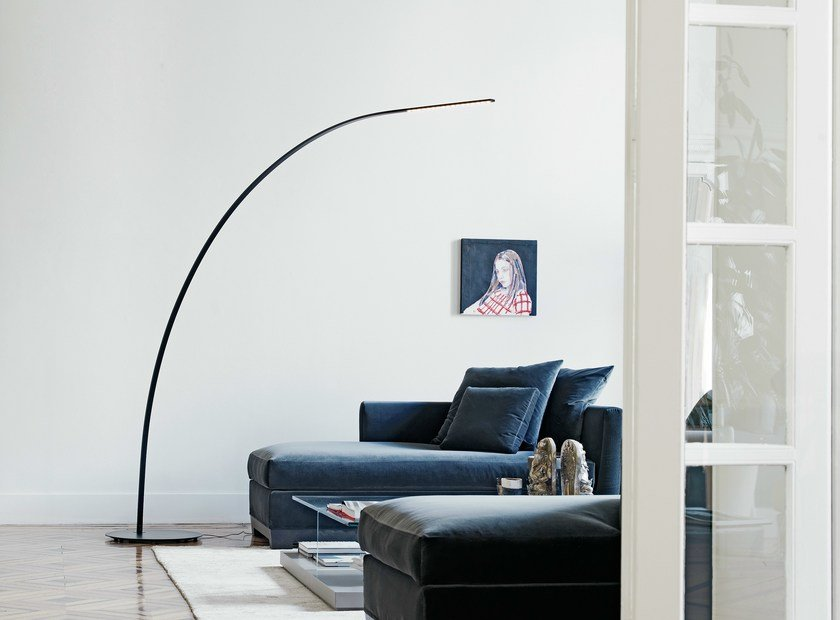 Direct light floor lamp YUMI by FontanaArte