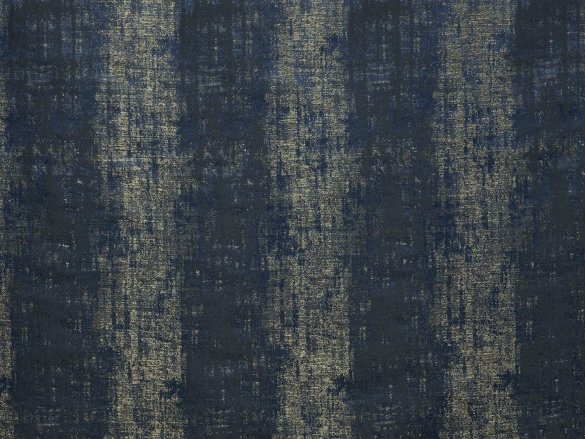 Moire jacquard upholstery fabric YUZA by LELIEVRE