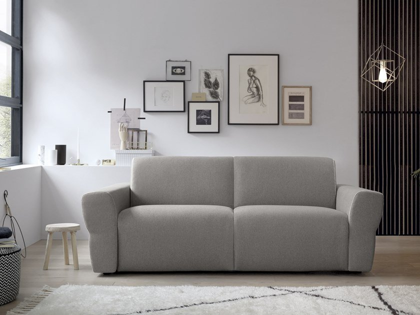 3 seater fabric sofa bed YVES by Felis
