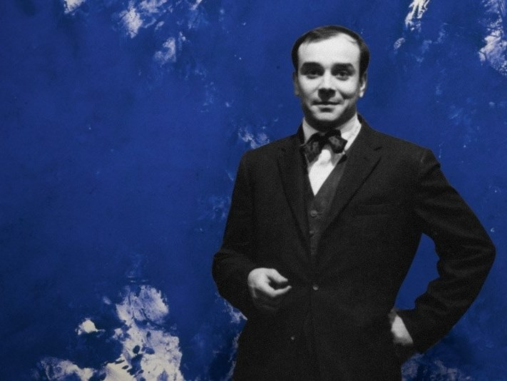 Decorative painting finish YVES KLEIN by Ressource