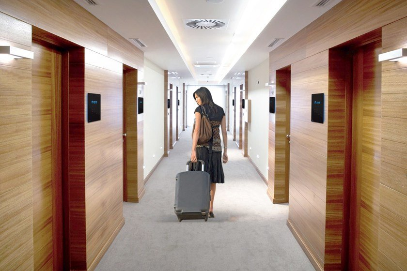 Building automation system for hotel Your Light by MICRODEVICE