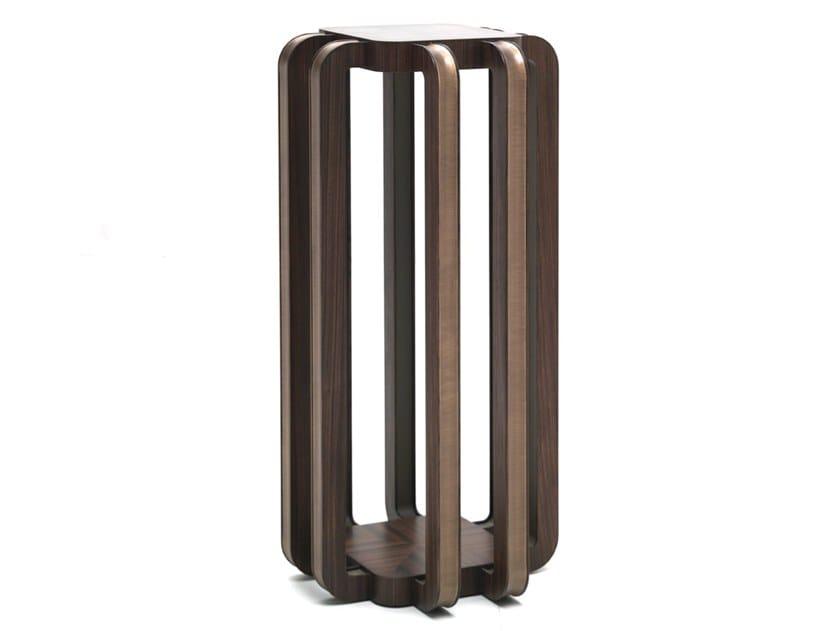 Wooden pedestal Z 1602 | Pedestal by Annibale Colombo