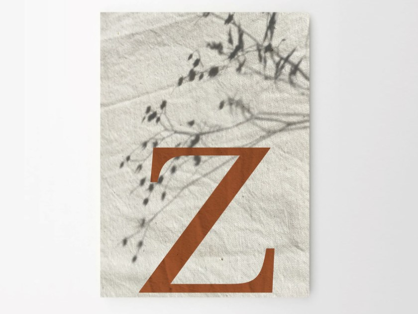 Stampa su carta Z SHADES by Sesehtypo
