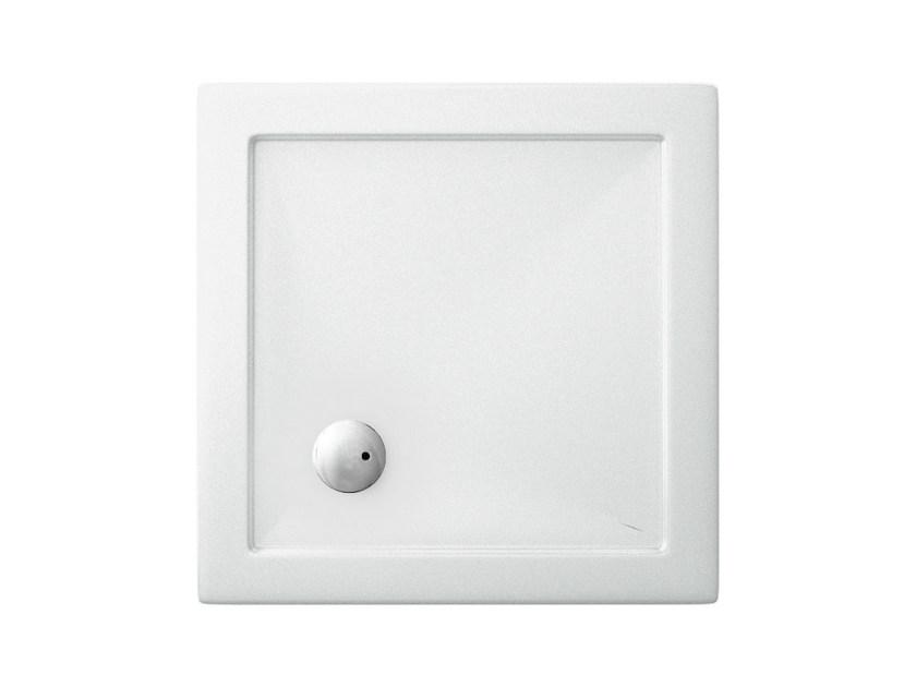 Square acrylic shower tray T-FORMAT | Square shower tray by Polo
