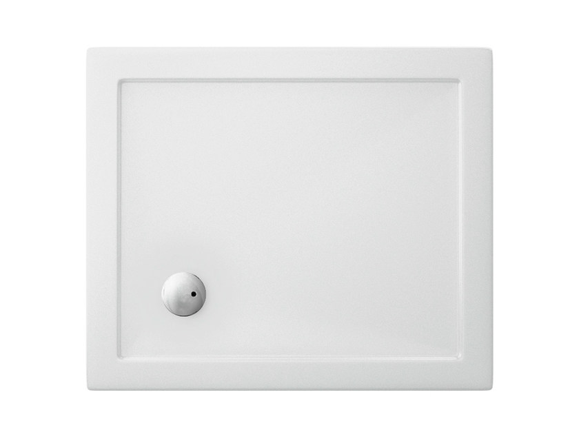 Rectangular acrylic shower tray T-FORMAT | Rectangular shower tray by Polo