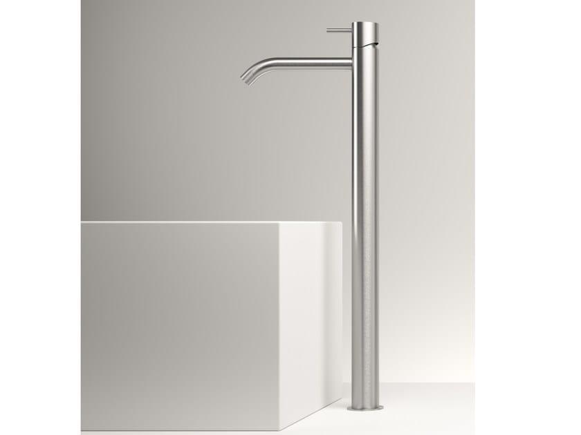 Countertop stainless steel washbasin mixer Z316 | Countertop washbasin mixer by ZAZZERI
