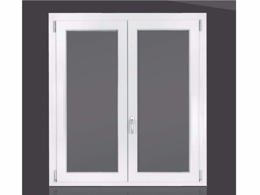 PVC casement window ZAFFIRO by Cos.Met.