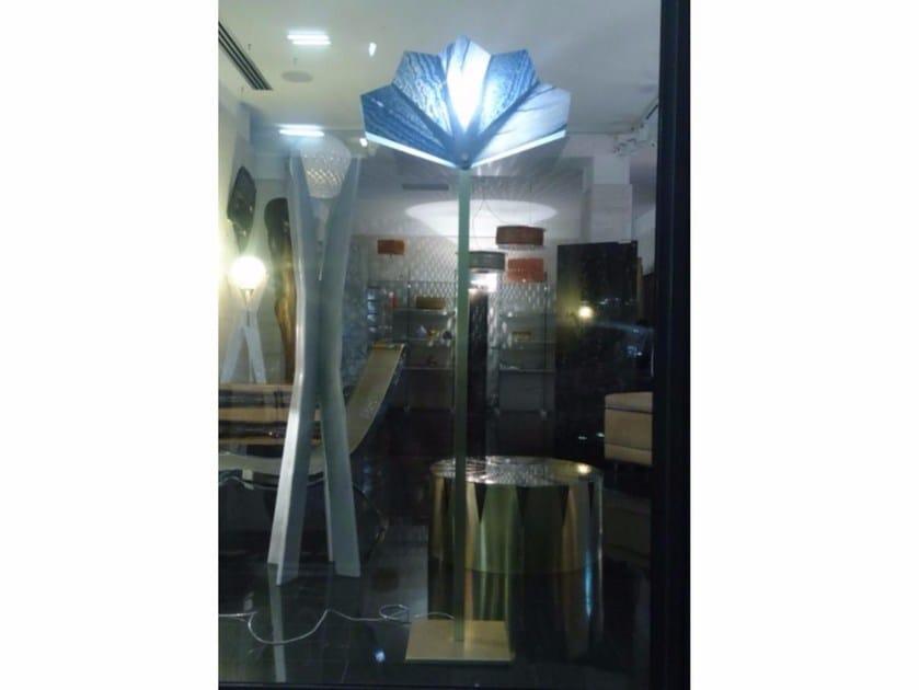 Quartzite floor lamp ZAHIR by Placidia
