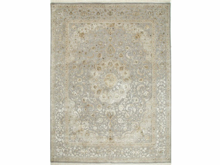Handmade rug ZANNA QNQ-50 Soft Gray by Jaipur Rugs