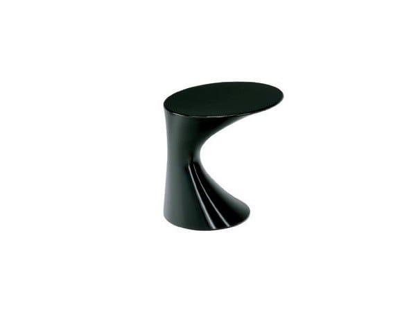 Tavolino in polipropilene ZANOTTA - TOD Black by In Stock