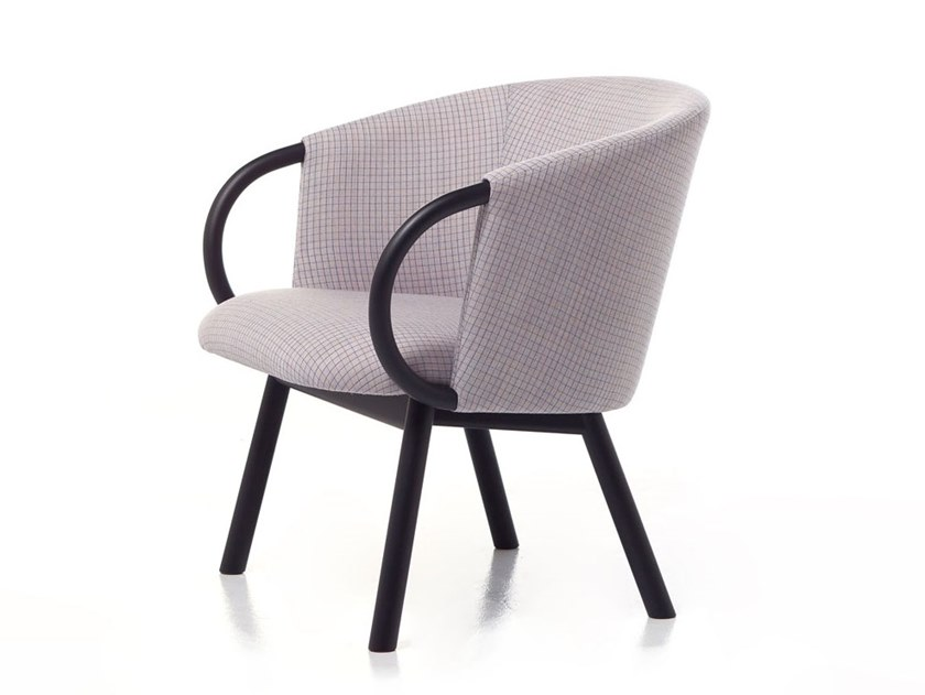 Armchair with armrests ZANT 04 by Very Wood