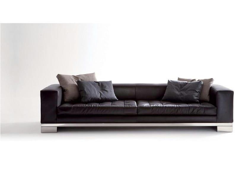4 seater leather sofa ZANZIBAR | 4 seater sofa by Marac