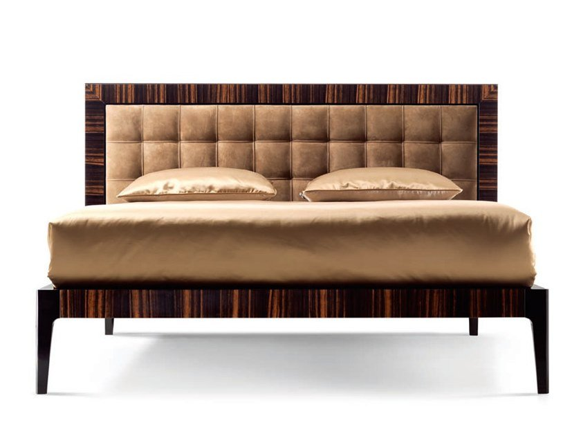 Double bed with high headboard ZARAFA - 700101 | Double bed by Grilli