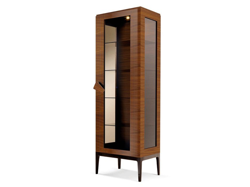 Display cabinet with integrated lighting ZARAFA - 701703 | Display cabinet by Grilli