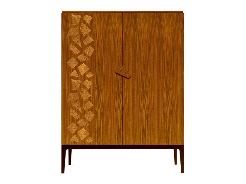 Bar cabinet with integrated lighting ZARAFA - 701803 | Bar cabinet by Grilli
