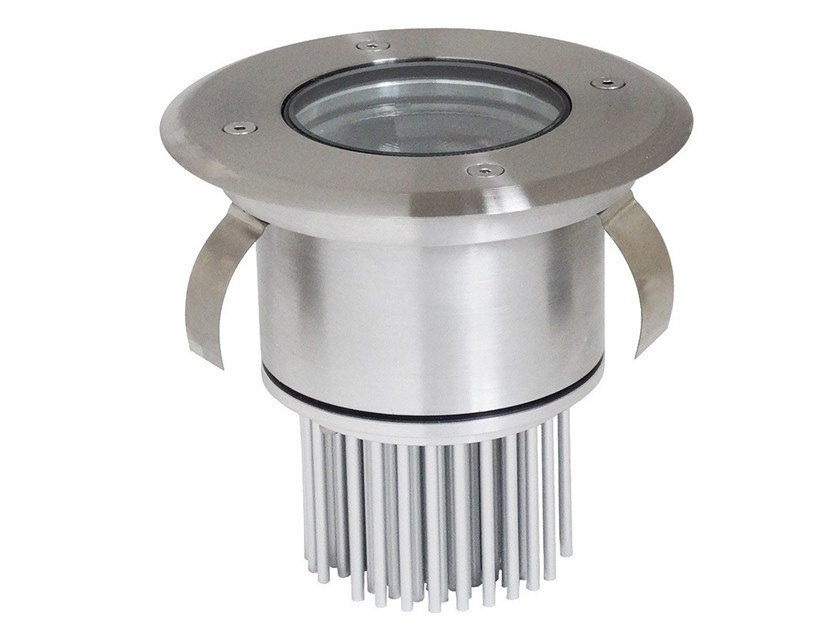 LED recessed stainless steel Outdoor spotlight ZAXOR 10° by BEL-LIGHTING