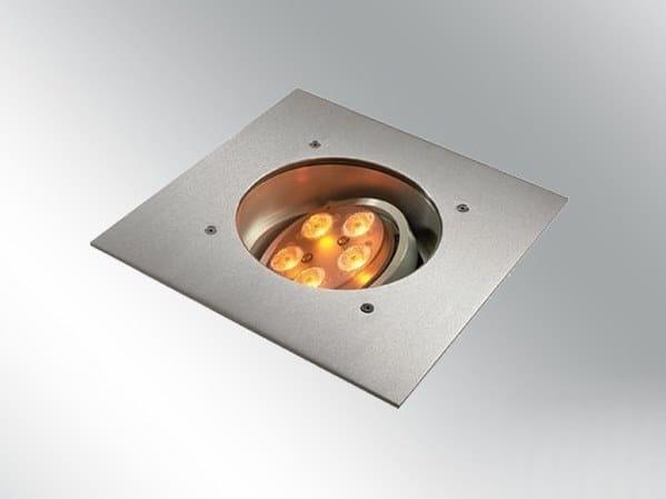 LED walkover light Walkable metal steplight ZAXOR O HP LED by BEL-LIGHTING