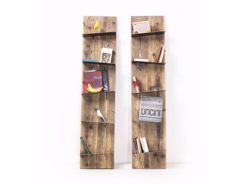 Open spruce bookcase ZAZIE by Vontree