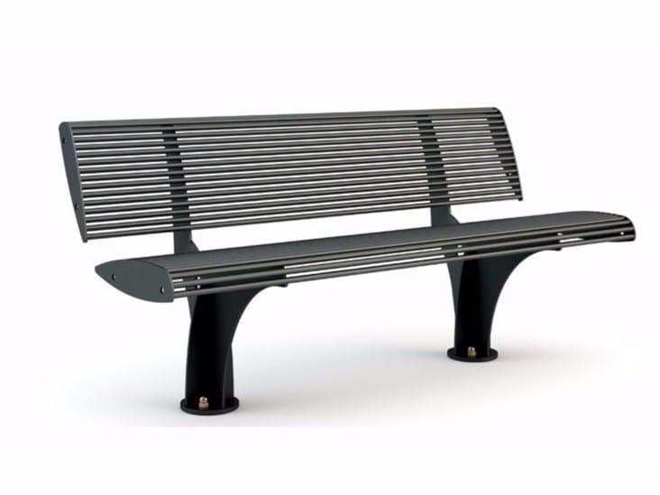 Modular Bench with back ZEBRA | Modular Bench by Bellitalia