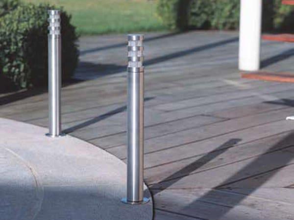 Stainless steel bollard light ZEBRA FL by BEL-LIGHTING