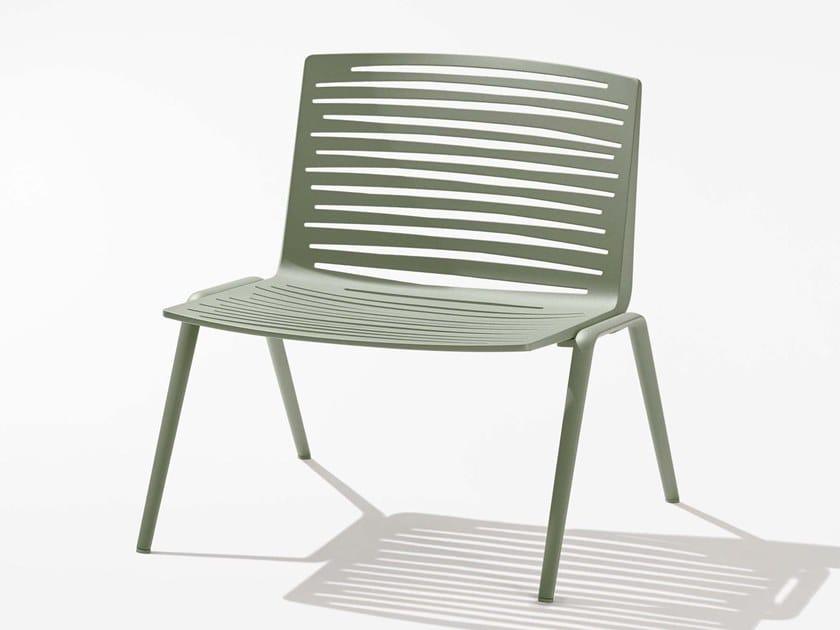 Aluminium garden armchair ZEBRA   Garden armchair by FAST