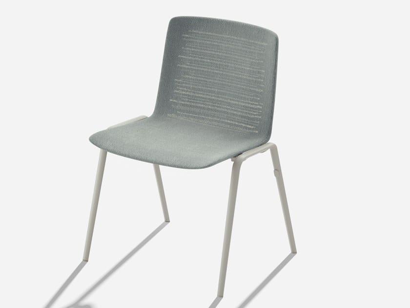 Fast Sedie Da Giardino.Zebra Knit Sedia Da Giardino By Fast Design Lievore Altherr
