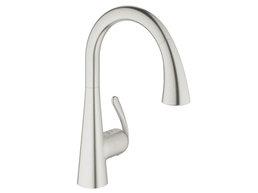 ZEDRA TOUCH | Electronic kitchen mixer tap By Grohe