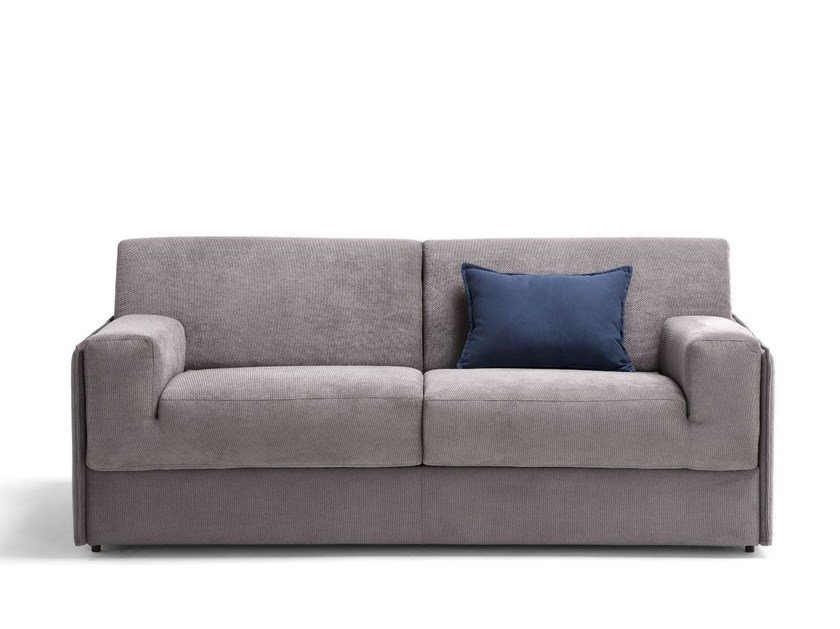 Fabric sofa bed with removable cover ZELIG by Dienne Salotti