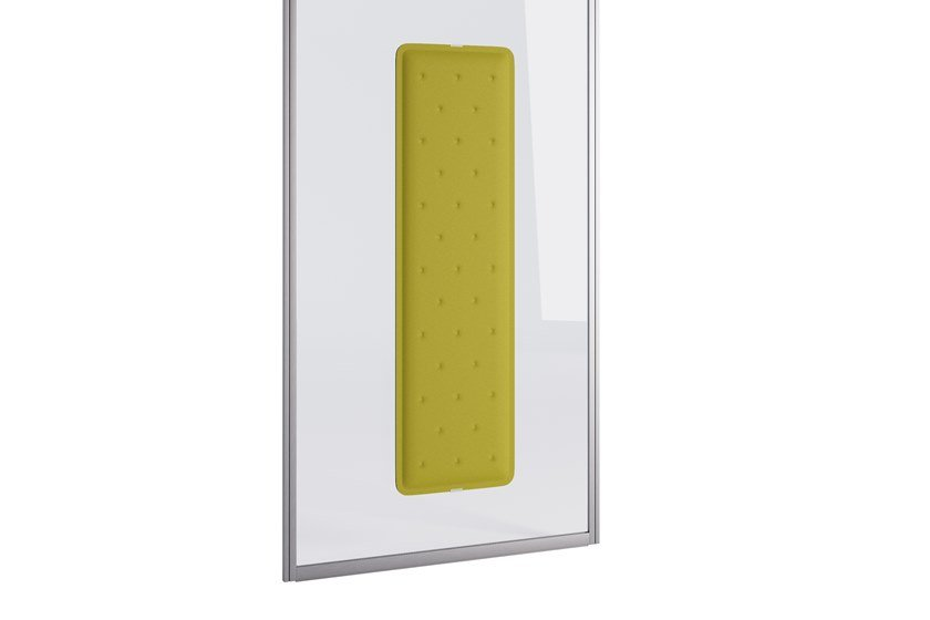 Fireproof Trevira® CS Decorative acoustic panel ZEN CRYSTAL by Steelbox by Metalway