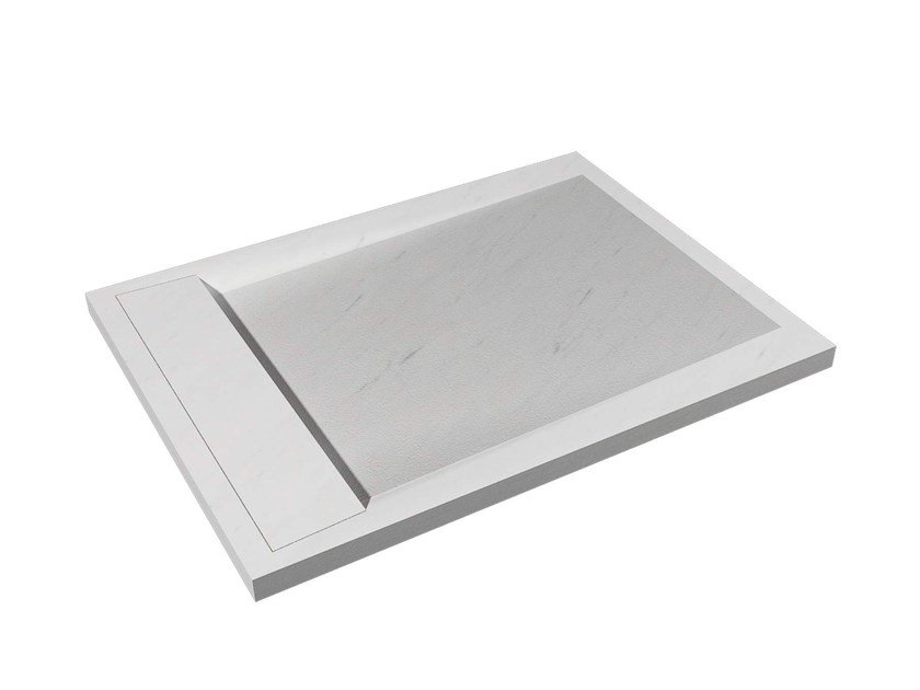 Rectangular natural stone shower tray ZEN by L'antic Colonial