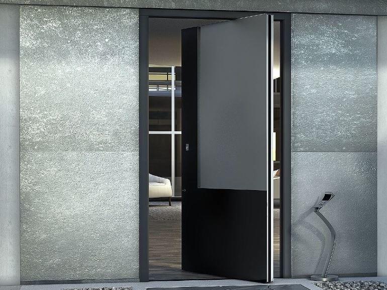 Porta d'ingresso a bilico blindata ZEN PIVOT BASE by Interno Doors