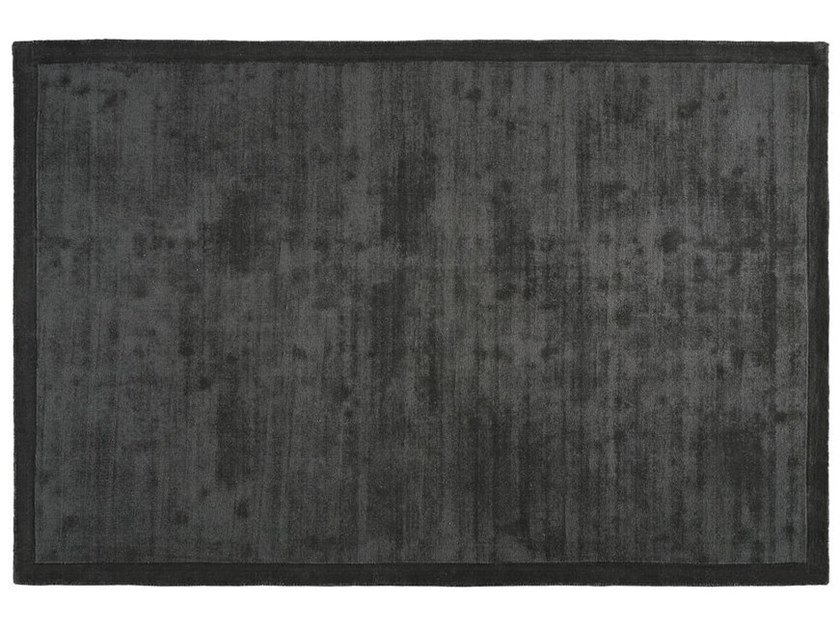 Solid-color rectangular polyester rug ZEN by Toulemonde Bochart